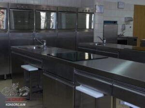 Kuchnie i pracownie gastronomiczne