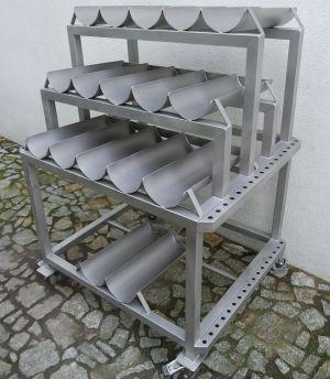 Wózki, zbiorniki i pojemniki jezdne